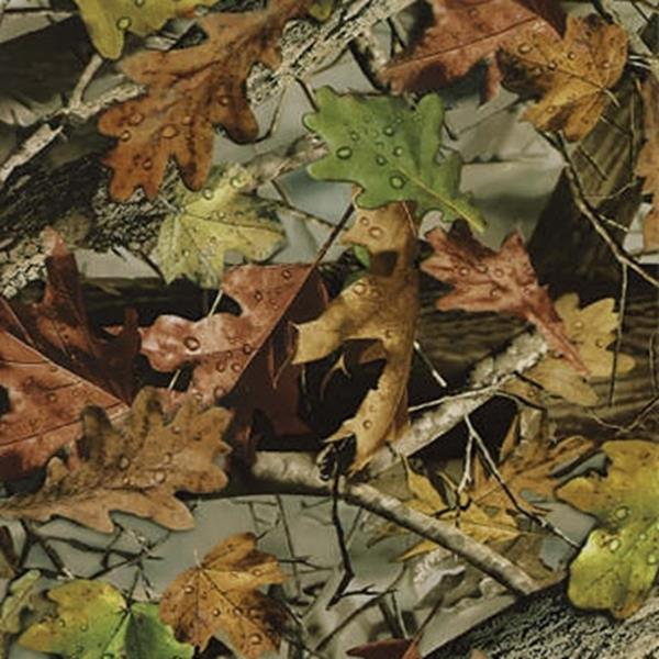 Fall Leaves Camo 100 Cm Emerald Coatings