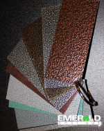 sample panle swatches powder coating 1
