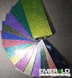 Chameleon powder coating